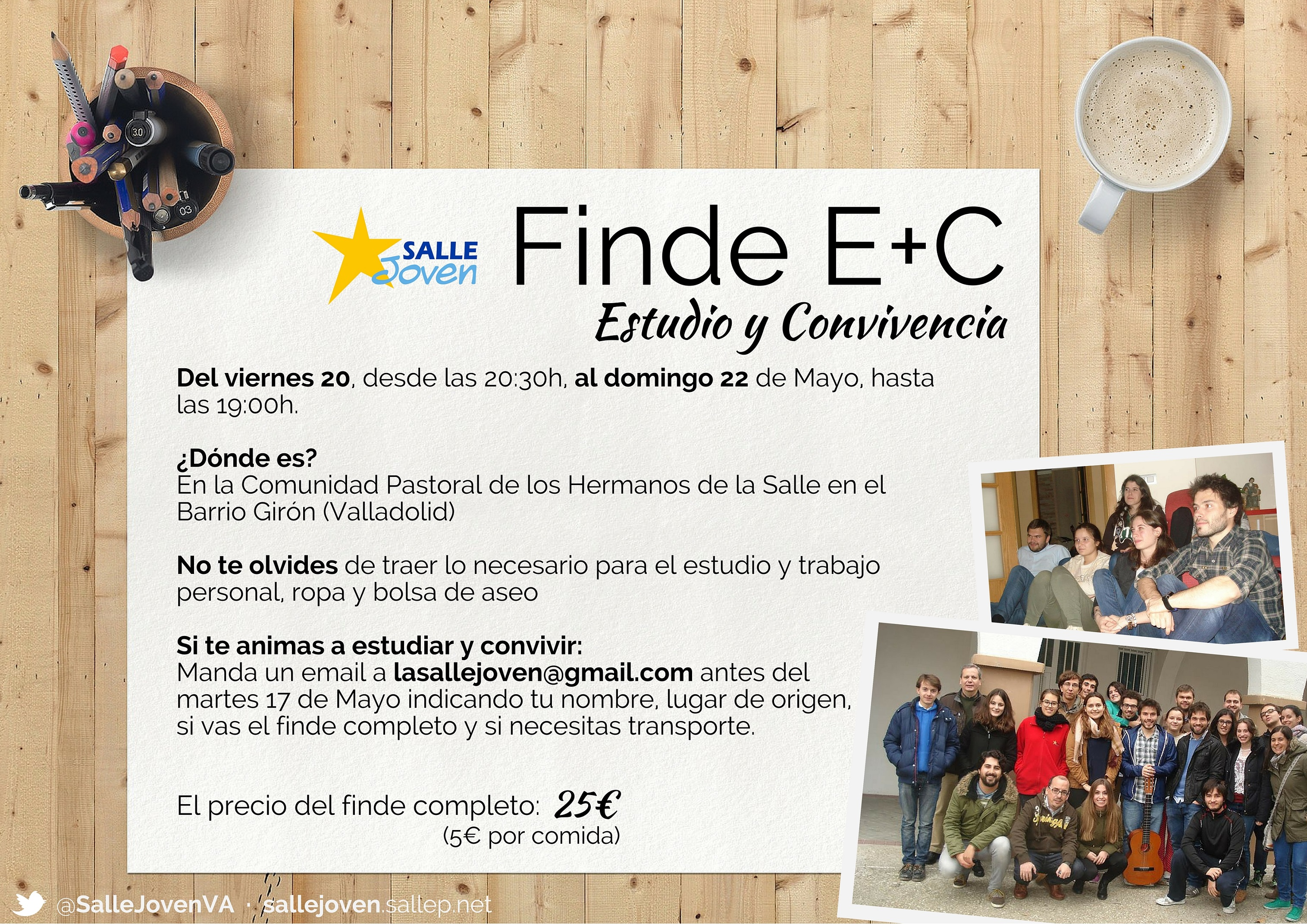 Finde E+C MAYO 2016