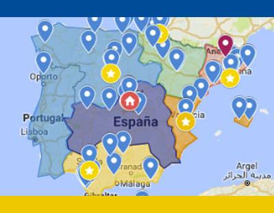 Busca los grupos juveniles de La Salle en España y Portugal